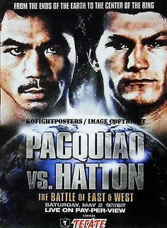 Pin by Mr G on tecate   Pinterest   Pacquiao fight, Ring and Girls
