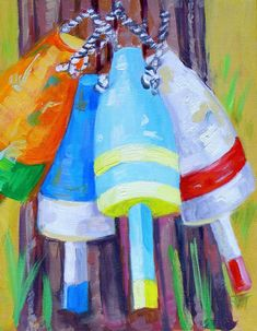 buoys.. Doing this painting