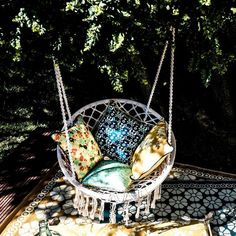 fauteuil-corde-suspendu-gypset-la-redoute - bohemian style - le blog deco de mlc