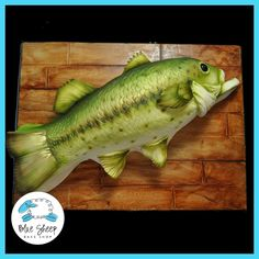 Large Mouth Bass Cake on Cake Central
