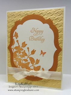 Stamping to Share: 12/27 Stampin' Up! My Friend Birthday