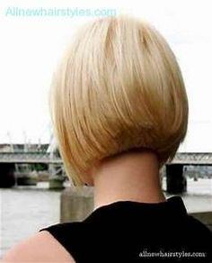 Back view of inverted bob haircut - AllNewHairStyles.com