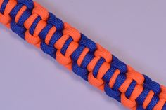 """How to make a Survival Paracord Bracelet - """"Boxed In"""" - Bored Paracord"""