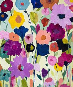 Blooms Have Burst by Carrie Schmitt (contemporary), American (Image Conscious)