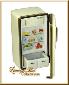 Refrigerator with Removable Drawer Limoges Box - Beauchamp