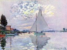 Sailboats - Claude Monet.