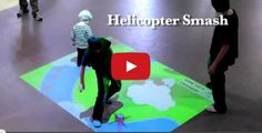 Interactive Projection Floors – How Engaging Would These be in Your Classroom or School?