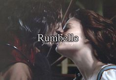 <3 Rumbelle. - Just OUAT things. (Best couple on Once Upon A Time! I LOVE Rumplestiltskin and Belle!)