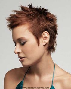 Awesome Short Spiky Hairstyles for Fine Hair, Short Spikey Hairstyles Short Spiky Haircuts Hairstyles for Women Short Spiky Hairstyles for Pertaining to Distinctive Short Spiky Hairstyles for Fine Hair Funky Short Hair, Very Short Hair, Short Hair Cuts For Women, Short Pixie, Short Cuts, Messy Pixie, Short Wavy, Short Blonde, Pixie Cuts