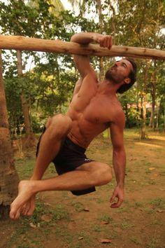 Get Fit Like a Wild Man: A Primer on MovNat and Outdoor Training  by Erwan Le Corre