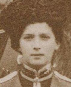 """Tsarevich Alexei Nikolaevich Romanov of Russia in his Cossack uniform.  """"AL"""""""