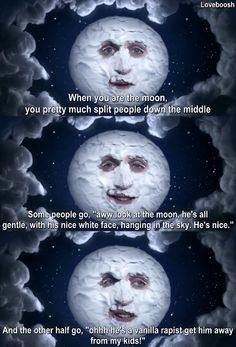 The Mighty Boosh!! Everybody look at di moon!!!!!!!