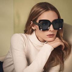 The Olivia Palermo Lookbook Óculos Feminino, Oculos De Sol, Beleza, Dicas,  Balenciaga f85b213556