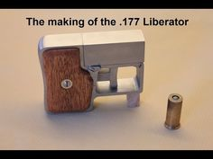 This video is a compilation of photos from the making of the Liberator. It's a recreation of the Stinger Liberator. Shooting video is not finished y. Weapons Guns, Guns And Ammo, Underground Shelter, Pocket Pistol, Shooting Video, Homemade Weapons, Ruger 10/22, Air Rifle, Self Defense
