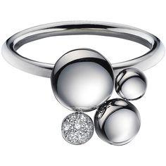 8760bc4d6199d Calvin Klein Jewelry ( 125) ❤ liked on Polyvore Jóias Minimalista, Anéis De  Ouro