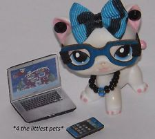 Littlest Pet Shop Accessories Nerd Lot Clothes Custom  LPS CAT NOT INCLUDED