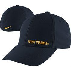West Virginia Mountaineers Nike Navy 2012 Football Players Sideline Swoosh Flex Hat $18.74 http://www.fansedge.com/West-Virginia-Mountaineers-Nike-Navy-2012-Football-Players-Sideline-Swoosh-Flex-Hat-_-1970333292_PD.html?social=pinterest_pfid27-01597