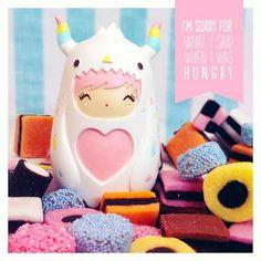 Momiji Doll, Kokeshi Dolls, Designer Friends, Anime Dolls, Vinyl Toys, 3d Character, Plushies, Action Figures, Sweets