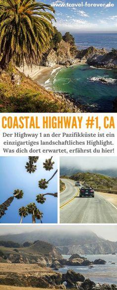 Der Highway 1 - eine der schönsten Straßen Amerikas. Meine Impressionen und Highlights der Strecke von San Francisco bis Los Angeles. | Cabrillo Highway | Coastal Highway California | Kalifornien | Küstenstraße USA | Highway 1 Sehenswürdigkeiten |