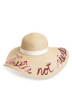 4fc906a1733 Eugenia Kim  Sunny - Fiesta Not Siesta  Straw Sun Hat Floppy Straw Hat