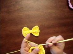 How to Make a Crochet Bow - Video Tutorial