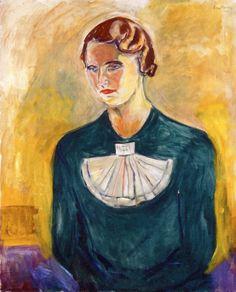 """""""Annie Stenersen,"""" (Edvard Munch)"""