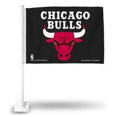 NBA - Chicago Bulls Car Flag, Multicolor