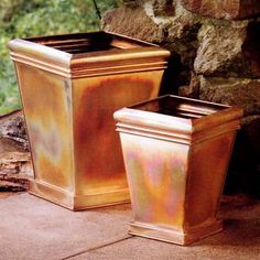 Discontinue Product   If Youu0027d Like To View Other Products In This Category  Click Below: Residential Fiberglass Pots And Planters Copper Planters
