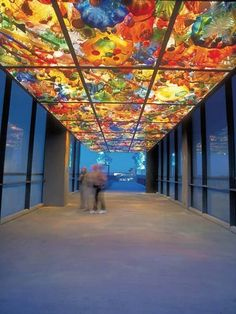 Tacoma's Dale Chihuly provides artistic inspiration for his Washington state hometown, which is filled with stunning studio glass installations. Even better: Many are free, including the Bridge of Glass above.