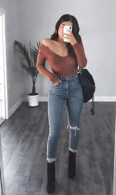 cute and lovely teenager outfits for go to school 16 Winter Mode Outfits, Winter Fashion Outfits, Spring Outfits, Autumn Fashion, Fashion Dresses, Fashion Boots, Fashion Sandals, Fashion Clothes, Cute Casual Outfits