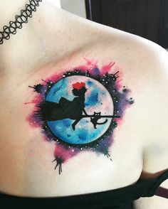 Kiki's Delivery Service Tattoo