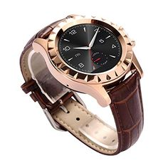 JideTech Leather Waterproof IP67 Bluetooth Smart Watch With Heart Rate ECG Thermometer Function (Gold) JideTech http://www.amazon.co.uk/dp/B012C6Y97E/ref=cm_sw_r_pi_dp_9j87wb0FQA5AC