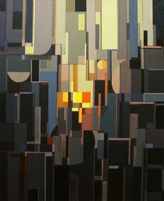 Metropolis, Liam Hennessy, #art #abstract