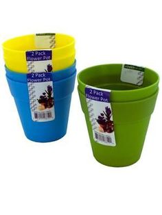 Lawn and Garden 40145: Plastic Flower Pots (Available In A Pack Of 24) -> BUY IT NOW ONLY: $59.52 on #eBay #garden #plastic #flower