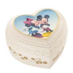 Lenox & Disney Mickey & Minnie Sweet Romance Keepsake box: Amazon.co.uk: Kitchen & Home