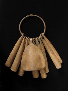 iron gong currency from the Yoruba, West Africa http://www.nomad-chic.com/west-african-pattern-play.html