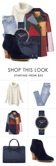 """Happy Afternoon"" by spells-and-skulls ❤ liked on Polyvore featuring Tory Burch, Nixon, Mansur Gavriel, Susina, Chico's, ToryBurch, skinnyjeans, mansurgavriel, shein and susina"