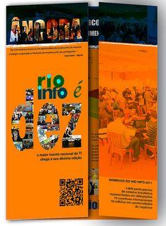 Folder para patrocinio ancora - Rio Info - frente e verso - Fechado | Flickr - Photo Sharing!
