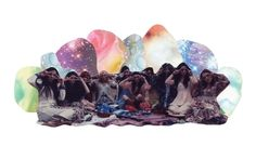 Hippie Galaxy Art Print