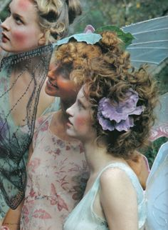 fairies. Tinker Belle's Forest, for Vogue Nippon.
