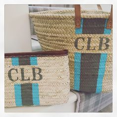 Twining large basket bag and clutch in matching colour combo Colour Combo, Color, Large Baskets, Basket Bag, Burlap, Reusable Tote Bags, Pairs, Hessian Fabric, Colour