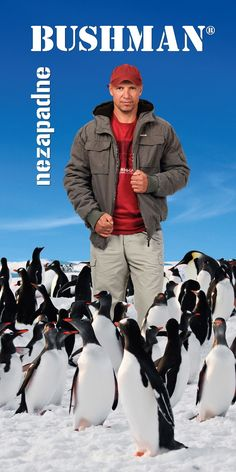 Kampaň BUSHMAN k nové zimní kolekci. Líbí?