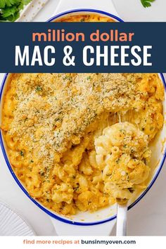This mac and cheese casserole is the ULTIMATE cheesy side dish! Layered with cheesy pasta and a creamy center made of sour cream and piles of cheese! The cheese sauce is so simple to make. It doesn't get better than this! Get the recipe here! Mac And Cheese Casserole, Breakfast Casserole, Casserole Recipes, Sour Cream, Pasta, Side Dishes, Best Dinner Recipes, Real Food Recipes, Weeknight Meals