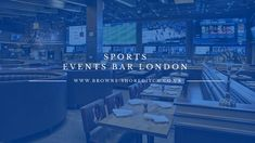 Are you searching for watching sports events bar in London? Browns Shoreditch watching your favourite sports athletes performing on big screens and cheer them has a whole new excitement.#SportseventsbarLondon Different Sports, Stage Show, Pole Dancing, Sport Watches, Screens, Athletes, Searching, Cheer, Events