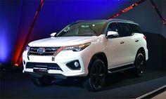 Đón đầu Triển lãm Bangkok (Thái Lan) 2016, Toyota trình làng gói độ chính hãng với mẫu TRD Sportivo cho Fortuner 2016 với mui xe màu sơn đen, hệ thống treo TRD và bổ sung thêm phanh đĩa cả 4 bánh.