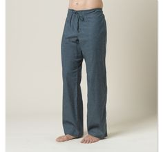 "for my man :) go anywhere pant ""Sutra Pant""."