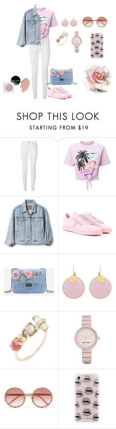 """Casual"" by megeller ❤ liked on Polyvore featuring Burberry, Miss Selfridge, Gap, Tod's, Jacquie Aiche, Nine West, Dolce&Gabbana and Rebecca Minkoff"