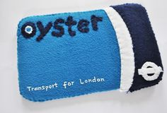 Real Felt working London Oyster travelcards