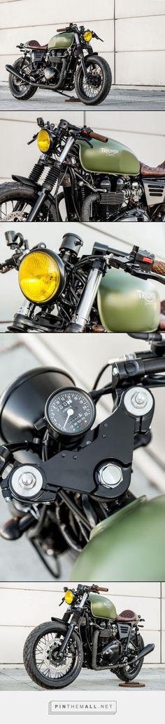 Macco Moto\'s 2007 Triumph Thruxton \'Lady Speed\' [CFCM]