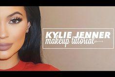 KYLIE JENNER Makeup Tutorial || pinterest + insta: @kylenehashimoto